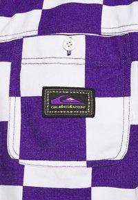 Quiksilver - BOX CHECKER JACKET - Summer jacket - prism violet - 5