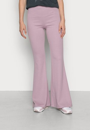 WILDA TROUSERS - Trousers - lilac