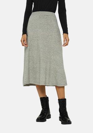 A-line skirt - medium grey