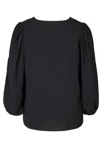 Zizzi - WITH PUFF SLEEVES - Blouse - black - 4