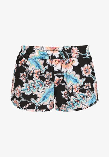 BOARD  - Swimming shorts - black with red