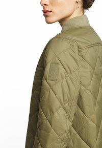 CLOSED - POSY  CLASSIC COAT - Classic coat - green umber - 4