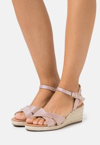 New Look Wide Fit - WIDE FIT PRAWN - Espadrilles - rose gold - 0