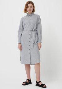 Finn Flare - Shirt dress - white - 1