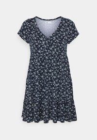 Hollister Co. - SHORT DRESS - Jersey dress - navy - 0