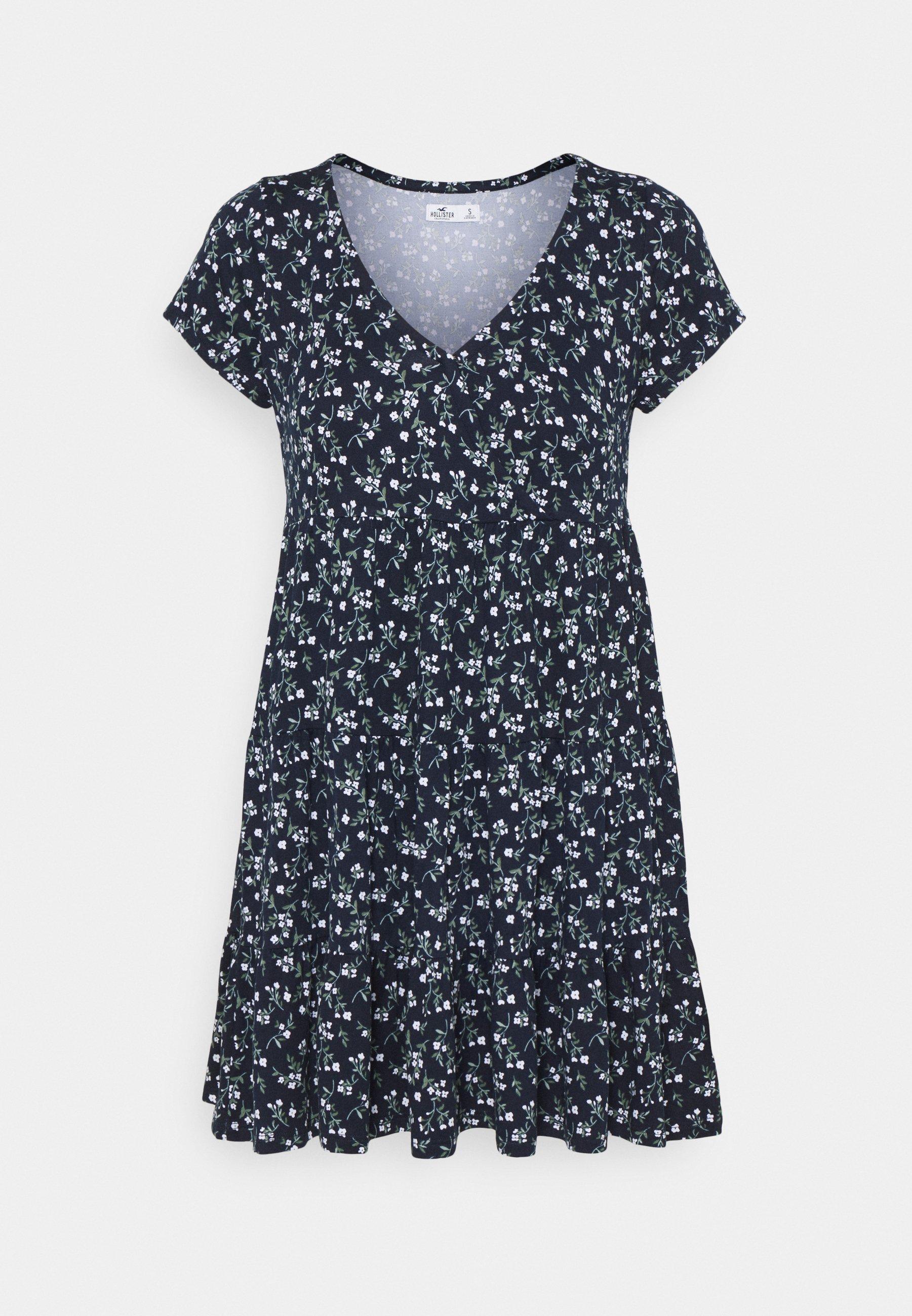 SHORT DRESS   Jerseykleid   navy