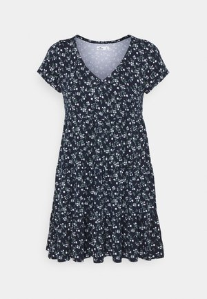 SHORT DRESS - Jerseykjole - navy
