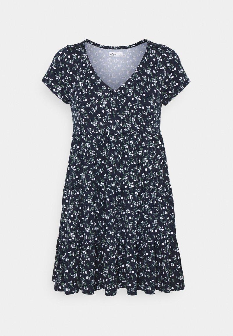 Hollister Co. - SHORT DRESS - Jersey dress - navy