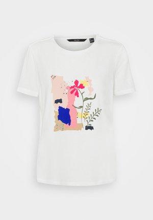VMHELAOLLY - T-shirt med print - snow white
