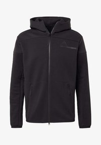 adidas Performance - Z.N.E HOODIE PRIMEGREEN HOODED TRACK TOP - Bluza z kapturem - black - 7