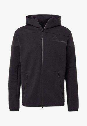 Z.N.E HOODIE PRIMEGREEN HOODED TRACK TOP - Bluza z kapturem - black