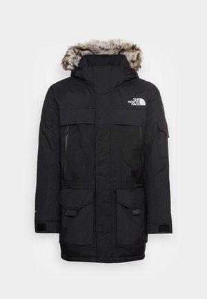 MCMURDO - Kabát zprachového peří - black