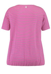 Samoon - T-shirt print - electric magenta gemustert - 3