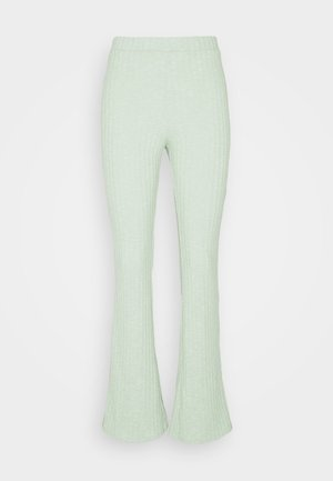 TORA TROUSERS - Bukse - green melange