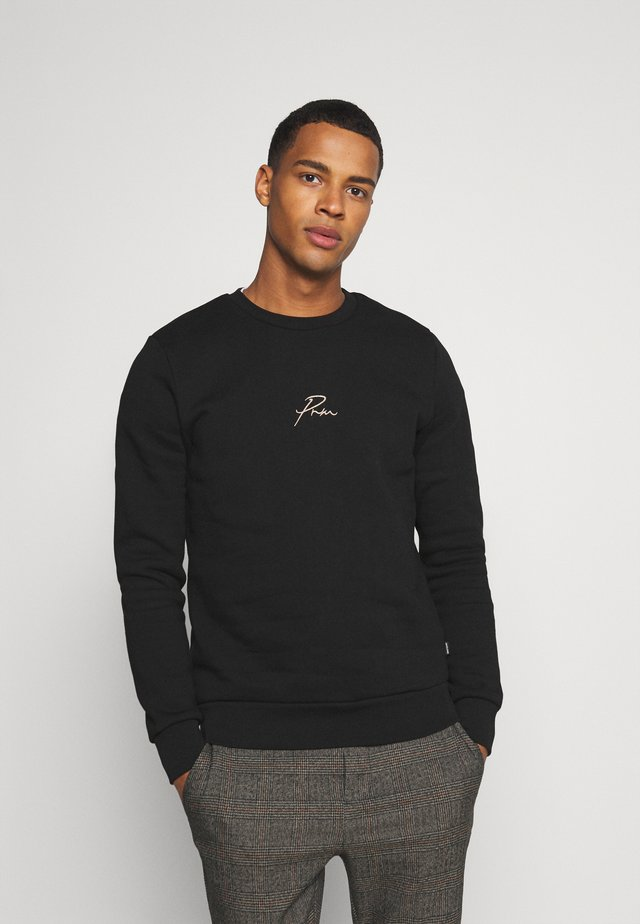 JPRBLA CREW NECK - Sweater - black