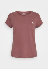 Abercrombie & Fitch - SEASONAL 3 PACK - T-shirt basic - navy/white/red - 1