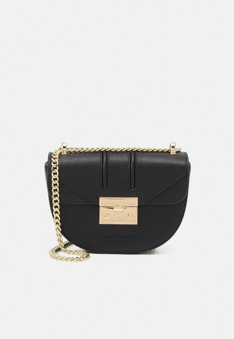 Seidenfelt - ROROS MOON - Across body bag - black/gold-coloured
