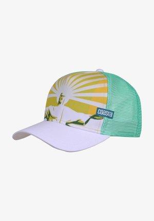Cap - white/green
