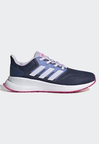 adidas Performance - RUNFALCON SHOES - Neutral running shoes - blue - 5