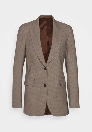 COBYRN - Short coat - dark sand