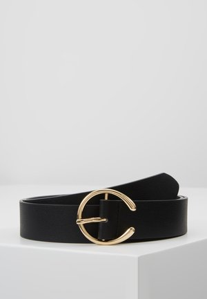 PCOFELIA JEANS BELT - Belt - black/gold