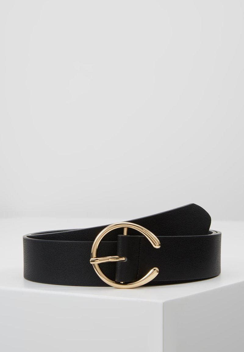 Pieces - PCOFELIA JEANS BELT - Ceinture - black/gold