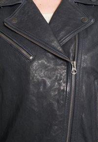Pepe Jeans - AMELIA - Kožená bunda - admiral - 3