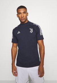 adidas Performance - JUVENTUS SPORTS FOOTBALL - Club wear - blue/grey - 0