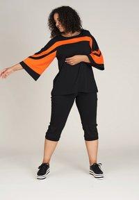 Studio - ANDREA - Blouse - black orange - 1