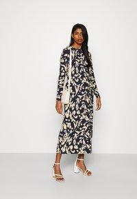 Vero Moda - VMNAVA DRESS - Day dress - navy blazer/hailey - 1