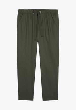 Trousers - deep pine