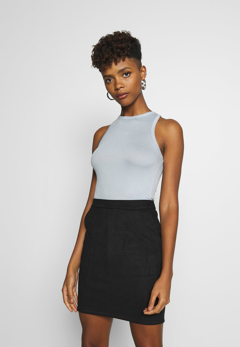 Nly by Nelly - A SIMPLE TANK - Top - blue/gray