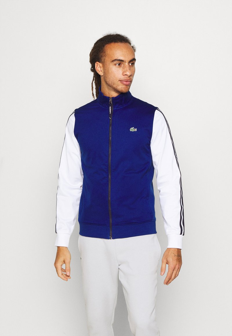 Lacoste Sport - TENNIS JACKET - Training jacket - cosmic/white