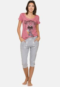 Stockerpoint - ASHLEY - Trousers - grey - 1