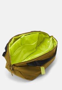 adidas Performance - FAV DUFFEL BAG - Sports bag - wild moss/acid yellow - 4