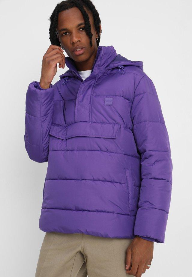 PULL OVER PUFFER  - Veste coupe-vent - ultra violett