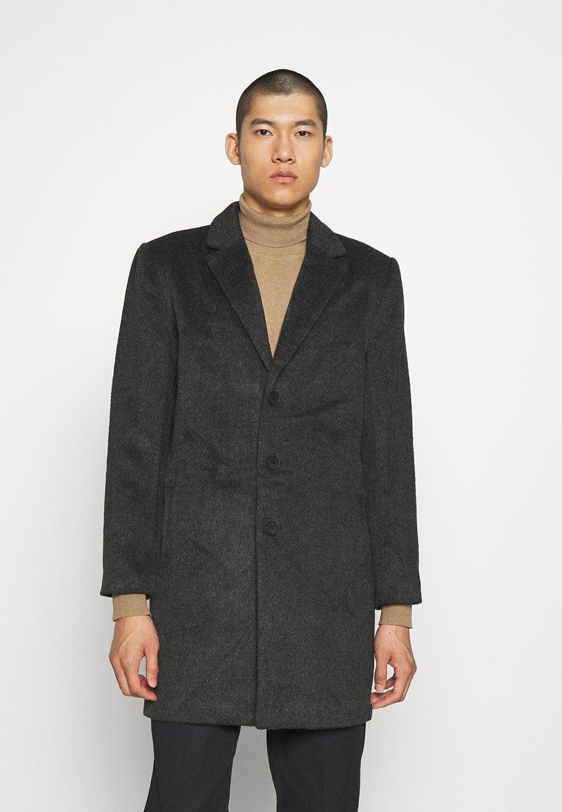 Only & Sons - Classic coat - dark grey melange