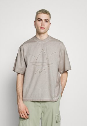 ABSTRACT TEE - Print T-shirt - timber