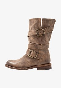 Felmini - GREDO - Cowboy/Biker boots - noumerat camel - 1