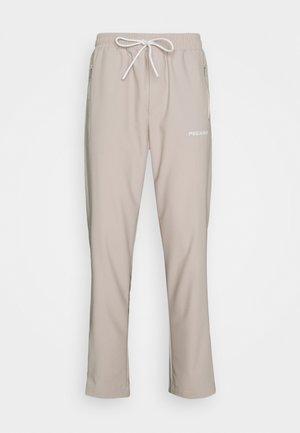 VINTO WIDE TRACK PANTS UNISEX - Tracksuit bottoms - whisper white