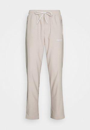 VINTO WIDE TRACK PANTS UNISEX - Pantalon de survêtement - whisper white