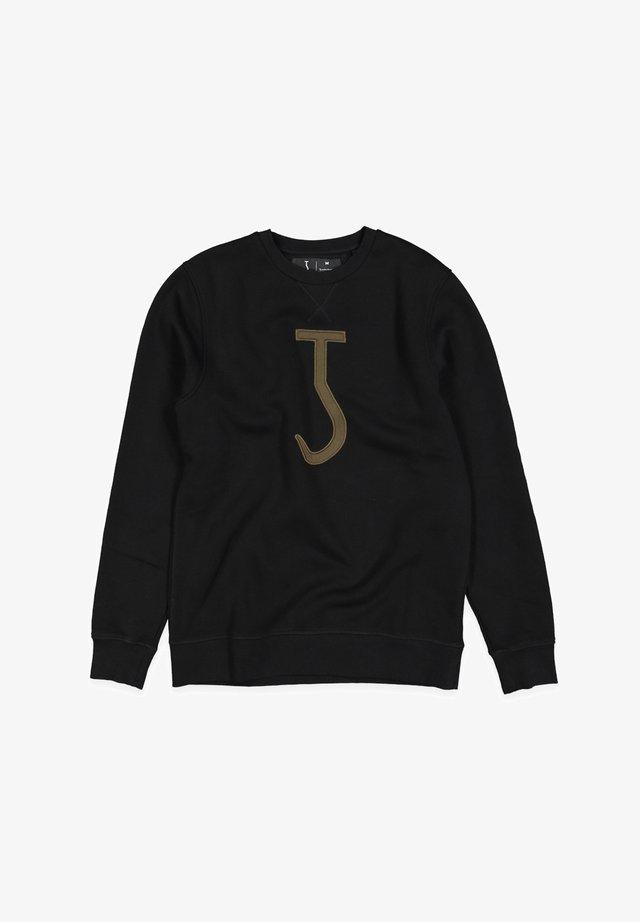 BIG HOOK CREW - Sweatshirt - off black