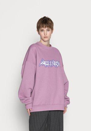 CORE PRINTED - Sweatshirt - purple