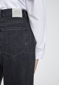 PULL&BEAR - Jeansy Straight Leg - mottled dark grey - 1