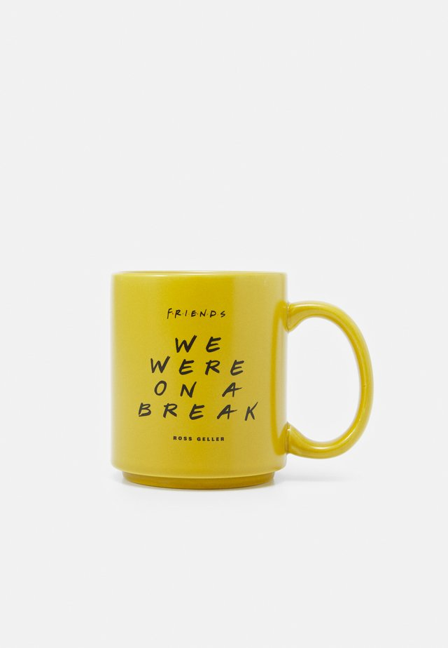 DAILY MUG UNISEX 4 PACK - Altri accessori - mustard yellow