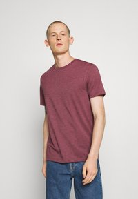 Burton Menswear London - 7 PACK - Basic T-shirt - burgundy - 4