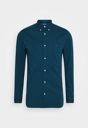 SLIM STRETCH - Shirt - blue