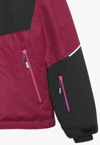 Icepeak - LEEDS  - Lyžařská bunda - burgundy - 2