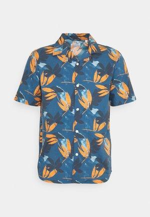 WAVE LOOSE FIT FLOWER PRINT - Shirt - dark
