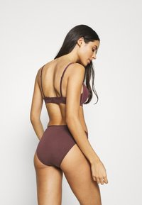 Skiny - DAMEN RIO ESSENTIALS WOMEN 3 PACK - Kalhotky - aubergine selection - 2